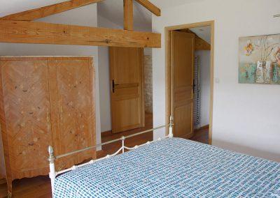 Le Chai double bedroom