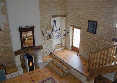 Le Chai from mezzanine