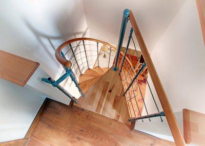 Le Pressoir stairwell