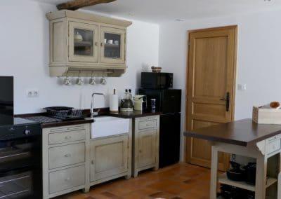 Le Liege kitchen area