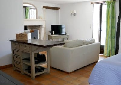 Le Liege lounge area